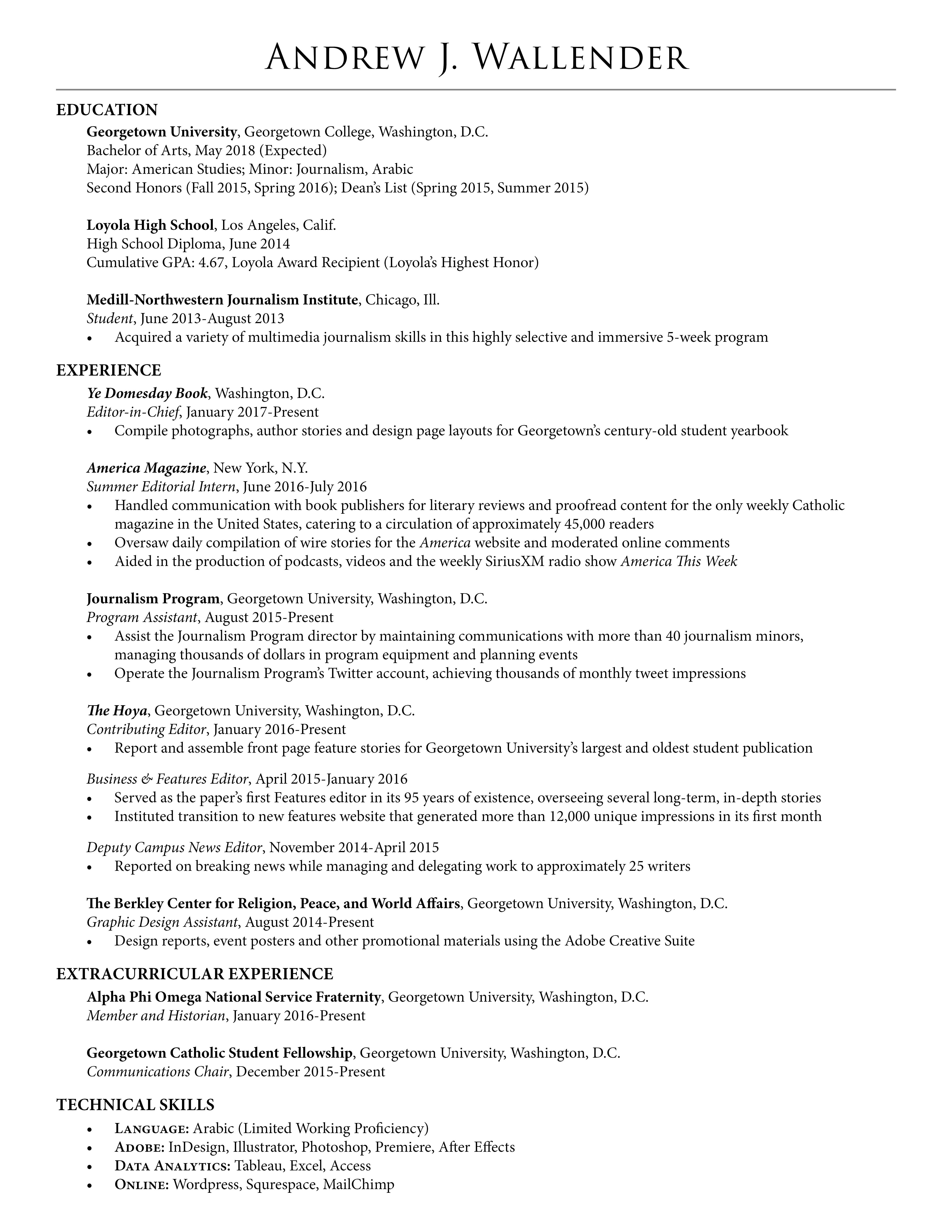 listing fraternity on resume cipanewsletter reacutesumeacute u2013 andrew wallender